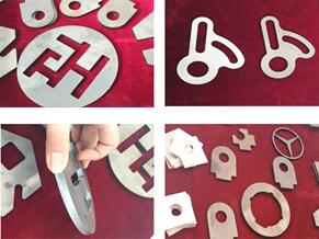 Laser cutting for metal sheet
